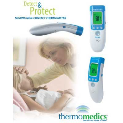 Sanomedics Talking Non-Contact Thermometer