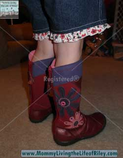 Umi Shoes Radiant Boots in Deep Red