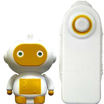 Zibits Collectible Mini R/C Robots - Dinc