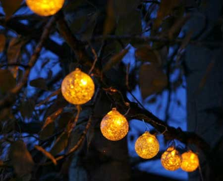 Allsop Home & Garden Aurora Glow String Lights