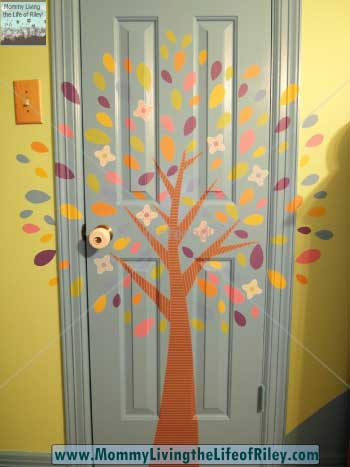 Bright Star Kids Spring Tree Wall Stickers