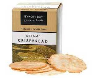 Byron Bay Gourmet Foods Sesame Crispbread