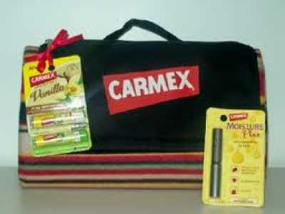 Carmex Outdoor Blanket Prize Pack