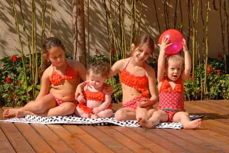 Lemons & Limes Scales Swimwear