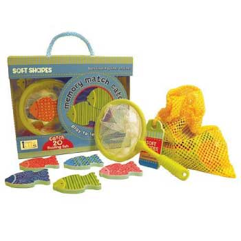 innovativeKids Soft Shapes Play to Learn Games: Memory Match Catch