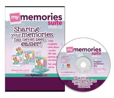 My Memories Version 2.0 Digital Scrapbooking Software