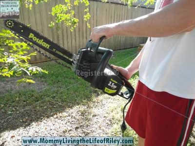 "ATG Stores Poulan 16"" Electric Chain Saw"