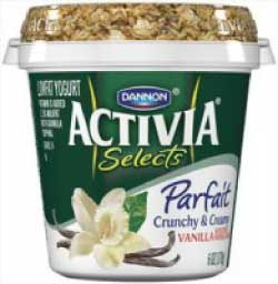 Activia Selects Parfait Yogurt
