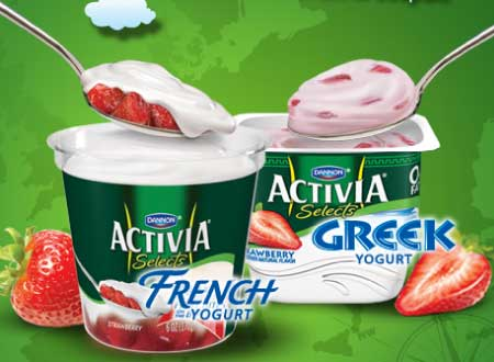 Activia Selects Yogurt
