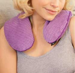 Aroma Home Microwaveable Neck Warmer in Lavender