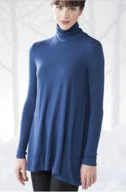 Gaiam Turtleneck Swing Top