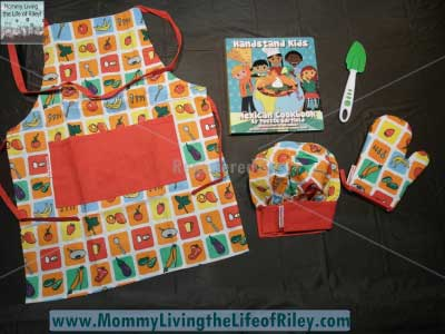 Handstand Kids Cookbook and Chef's Gear