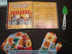 Handstand Kids Mexican Cookbook and Spatula