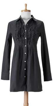 j.e.m. apparel Ruffled Tunic