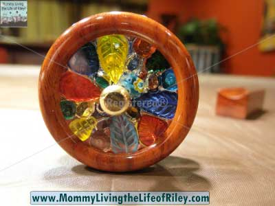 Kaleidoscopes To You N & J Padauk Double Wheel Kaleidoscope