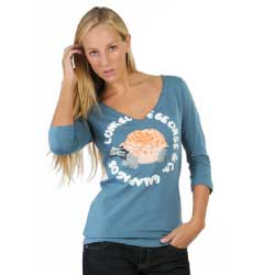 Lonesome George & Co. Rosalina Organic Tee