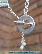Wendell August Forge UpCycled Bliss Toggle Necklace with Beads