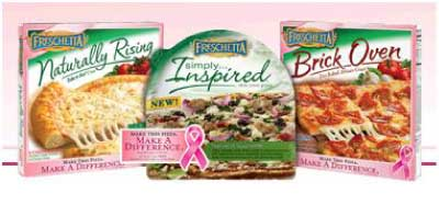 FRESCHETTA PROUD TO SUPPORT PINK