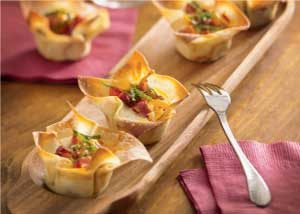 Bacon Cheddar Mini Egg Cups