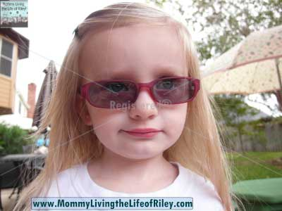 39DollarGlasses.com Chipmunk Pink/White Kids' Sunglasses