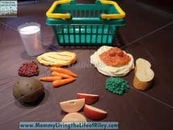Learning Resources Healthy Foods Play Set