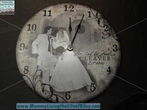 "For All Time Clocks Personalized Design 12"" Clock"