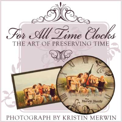 For All Time Clocks Personalized Design Clock