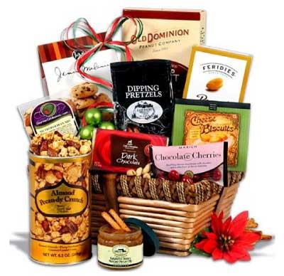GourmetGiftBaskets.com Christmas Gift Basket Classic