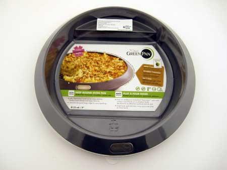 "GreenPan Dubai Ovenware 9"" Cake Pan"
