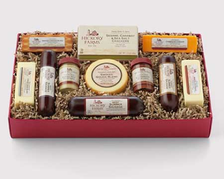 Review - Once You Receive a Hickory Farms Gift Basket, the ...