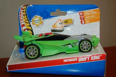 Hot Wheels Motorized Drift King