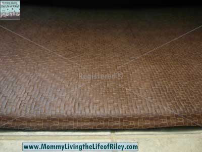 "Imprint Comfort Mats 20"" x 36"" Anti-Fatigue Mat in Cobblestone Toffee Brown"