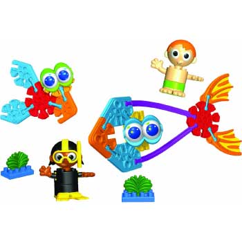 Kid K'NEX Undersea Friends Building Set