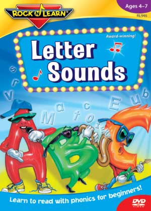 Rock 'N Learn Letter Sounds