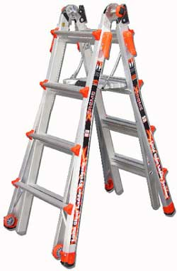 Little Giant Xtreme Model 17 Multi-Use Ladder