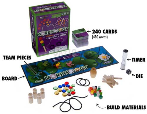 Morphology from Morphology Games