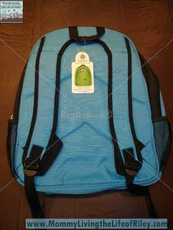 Optari Blue Backpack with Standard/Mini Fobbz