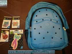 Optari Blue Backpack with Standard/Mini Fobbz