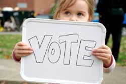 Teach Kids to Vote