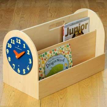 Tidy Books Box in Natural