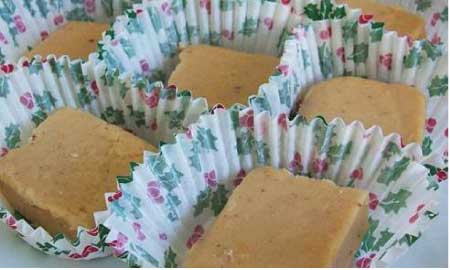 Gooseberry Patch Eggnog Fudge