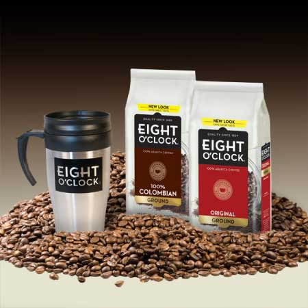 Eight O'Clock Coffee Gift Set