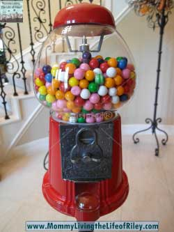 King Carousel Gumball Machine with Stand Gift Set from Gumballs.com