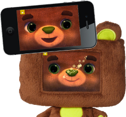 HappiTaps Huggable Smartphone Friend
