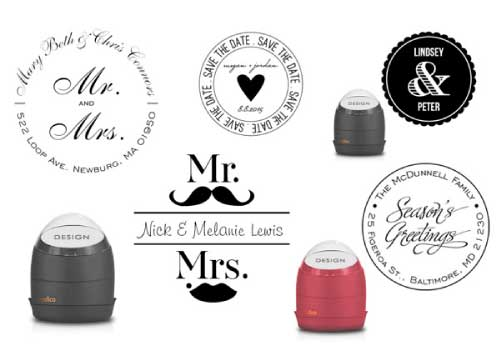 Invitation Consultants Custom Self-Inking Stamps