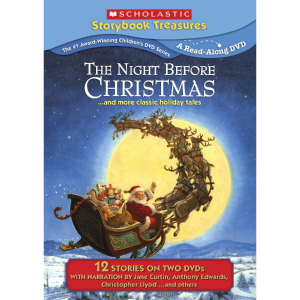 Scholastic Storybook Treasures The Night Before Christmas Special Edition DVD 2-Pack