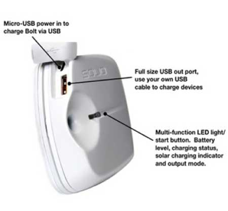 Solio Bolt Solar Charger from The Ultimate Green Store