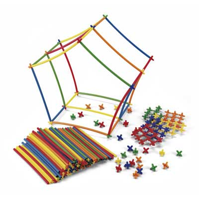 Roylco Straws and Connectors 400-piece set