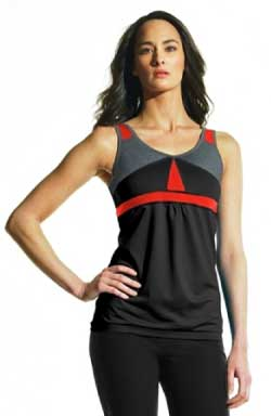 Mondetta Performance Gear Aphelion Top in Black
