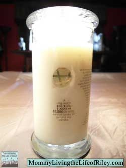 White Chocolate All Natural Soy Candle from Diamond Candles